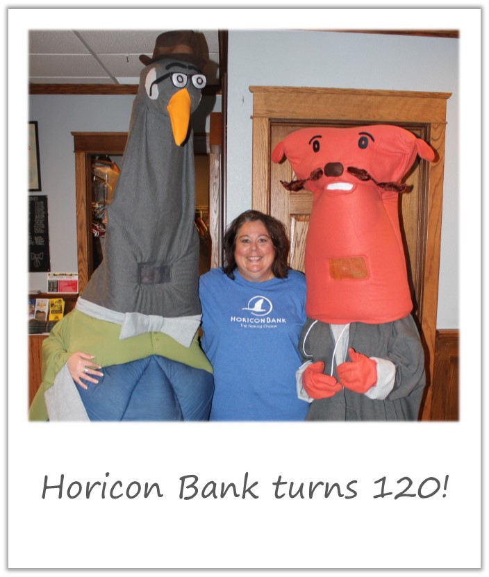 Horicon Bank Ollie and Gilbert