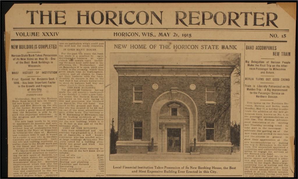Horicon Reporter