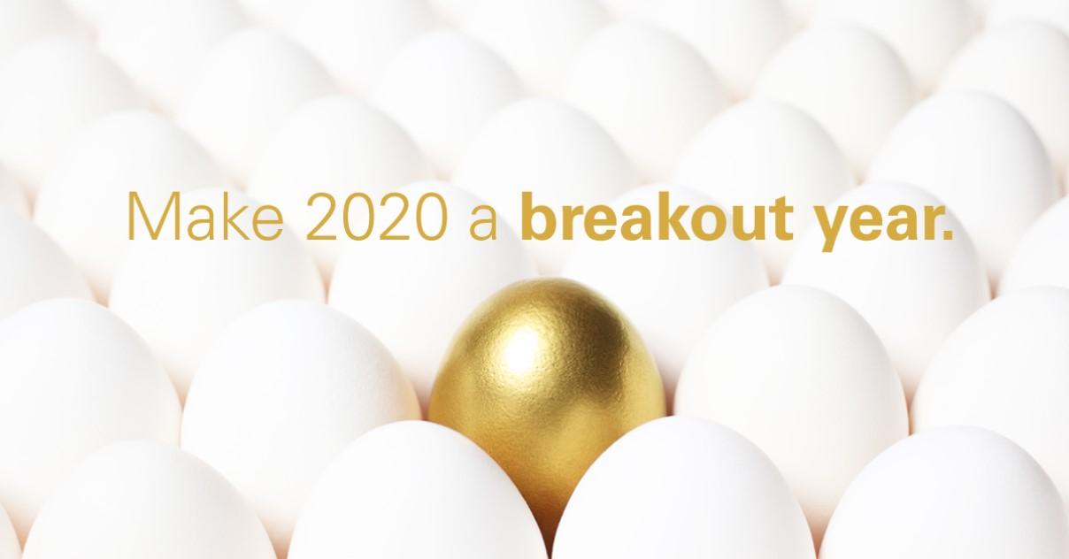 golden egg in carton of white eggs