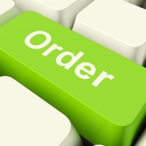 Order on a keyboard