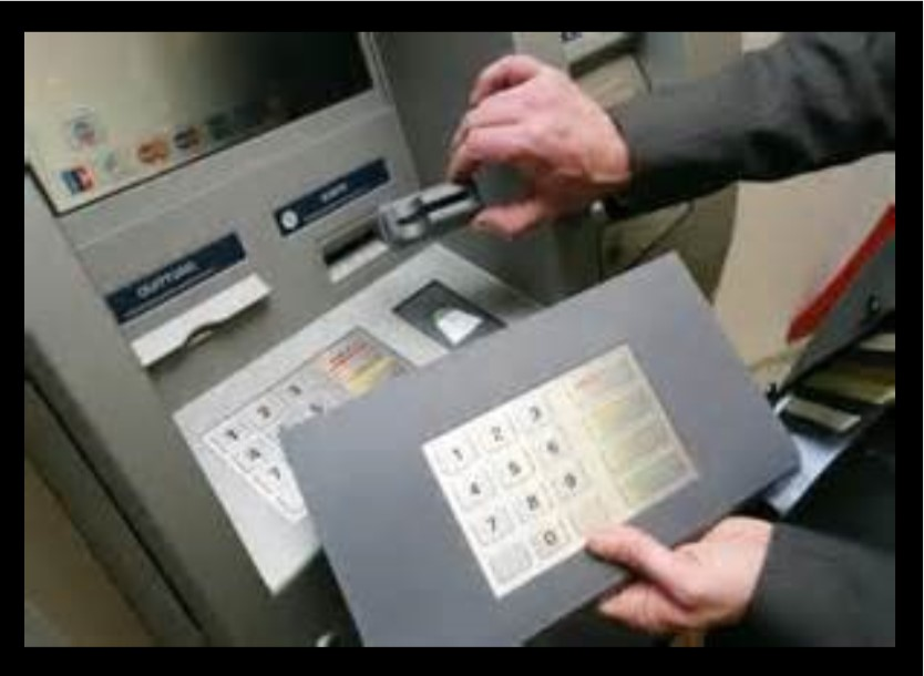 Skimmers can capture your card information