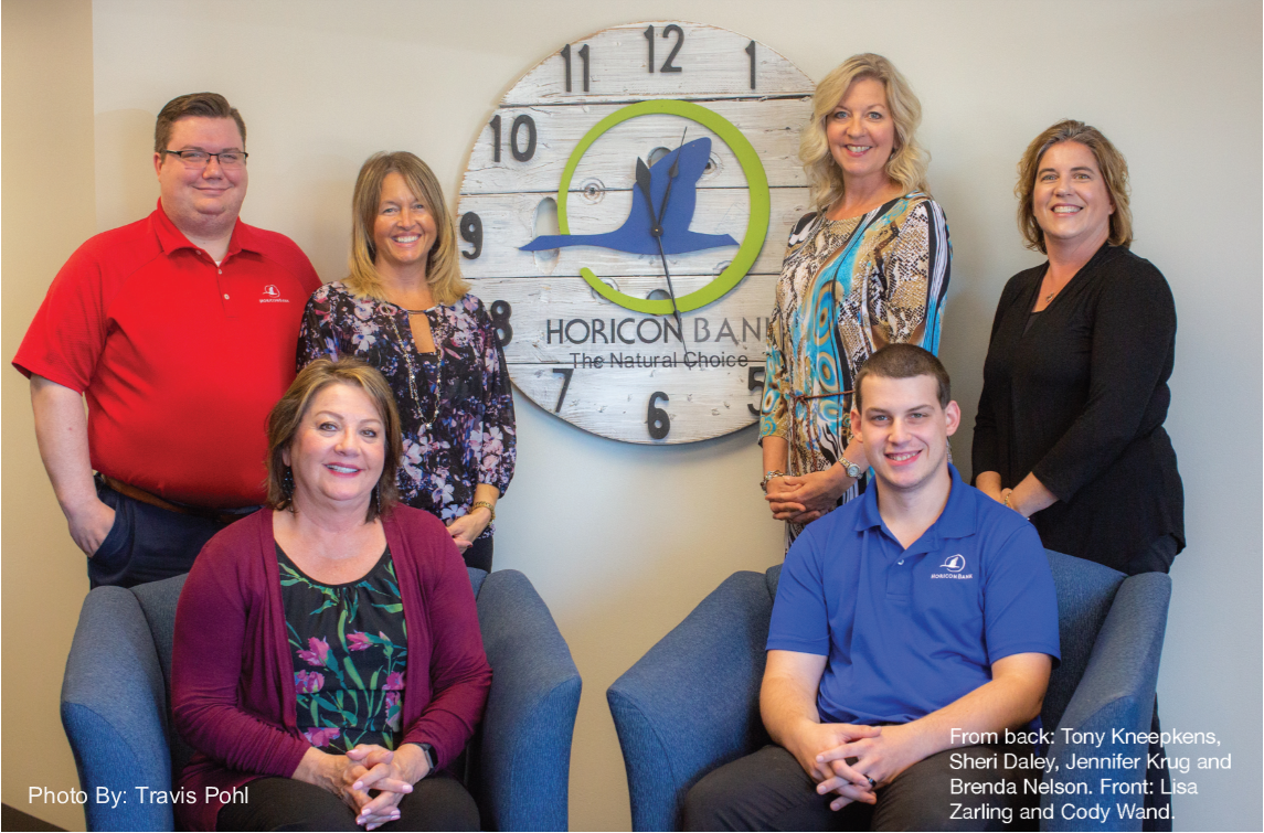 commercial loan processing team at Horicon Bank