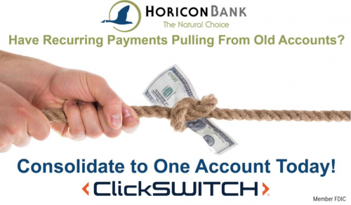 ClickSWITCH poster - Recurring Payments