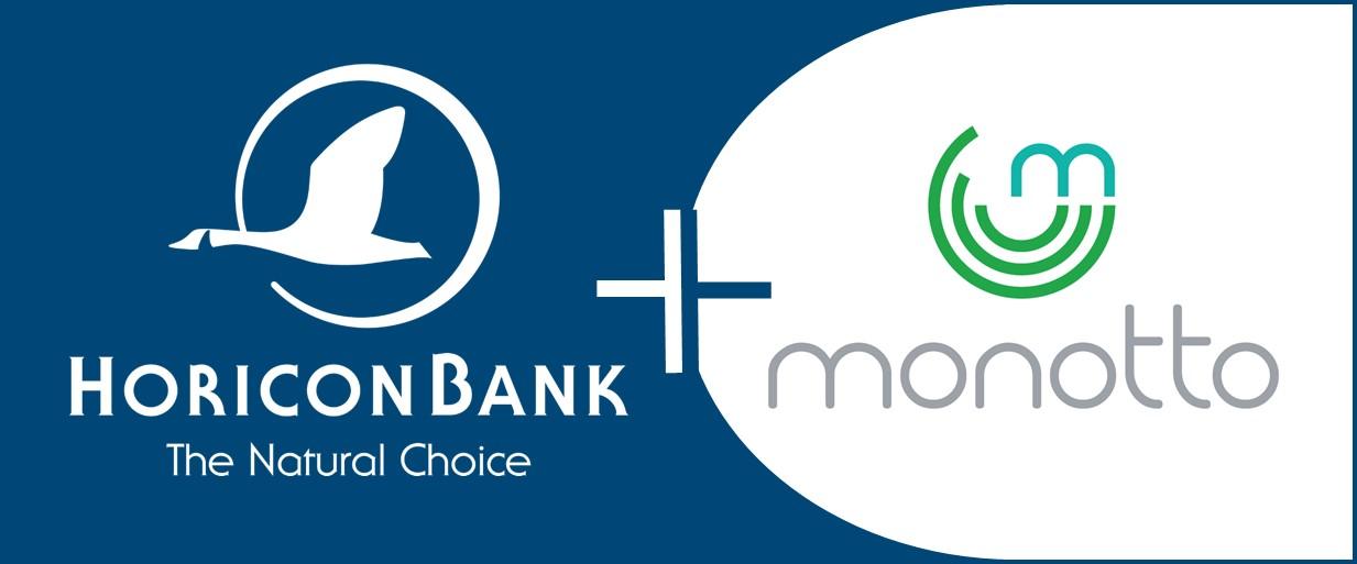 horicon bank logo and monotto logo